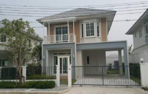 เช่าบ้านนวมินทร์ รามอินทรา : For Rent ให้เช่าบ้านเดี่ยว 2 ชั้น หมู่บ้าน ชวนชื่น ซิตี้ นอร์ทวิลล์-วัชรพล ซอยรามอินทรา 65 บ้านสภาพยังใหม่ แอร์ 4 เครื่อง ไม่มีเฟอร์นิเจอร์ อยู่อาศัยเท่านั้น
