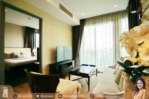 For RentCondoSukhumvit, Asoke, Thonglor : JY-R00045-Condo for rent, Kean by Sansiri, 8th floor, 75 sq.m., 2 bedrooms, 2 bathrooms, near BTS Thonglor.