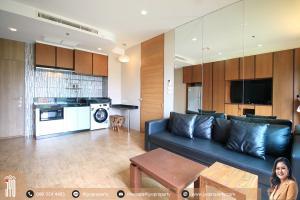For RentCondoSukhumvit, Asoke, Thonglor : JY-R00057-Condo For Rent, Noble Reveal Ekamai, 1bedroom 1 bathroom 48sq.m on 7th floor beautiful room and garden view.
