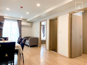 เช่าคอนโดอารีย์ อนุสาวรีย์ : 💣ปล่อยเช่า!!! 24,000 บาท/เดือน คอนโด มาเอสโตร 07 เรสซิเดนซ์ (อนุสาวรีย์ชัยฯ) รูปแบบ 2 ห้องนอน 1 ห้องน้ำ ระเบียงเห็นสระว่ายน้ำ ตำแหน่งห้องมุม