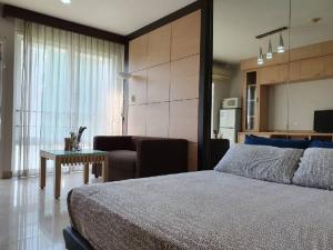 เช่าคอนโดพระราม 9 เพชรบุรีตัดใหม่ RCA : ห้องแต่งสวย ihouse laguna พระราม9 ใกล้ มศว. พร้อมเข้าอยู่