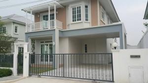 เช่าบ้านเกษตรศาสตร์ รัชโยธิน : AH-N015 ให้เช่าบ้านเดี่ยว 2 ชั้น ตกแต่งสวย ชวนชื่น ซิตี้ วัชรพล-รามอินทรา ใกล้เพลินนารี่ มอลล์