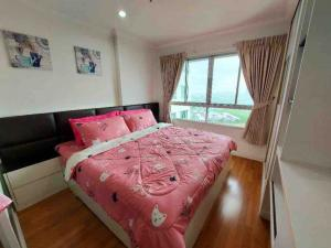 For RentCondoRama9, Petchburi, RCA : 🔥🔥 Risa01124 Condo for rent Lumpini place rama9 34sqm 21fl buildc 12,000 baht only 🔥🔥