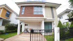 ขายบ้านบางนา แบริ่ง ลาซาล : รหัสC4470 ขายบ้านเดี่ยว 2ชั้น โครงการ Perfect Place สุขุมวิท77 สุวรรณภูมิ ถนนลาดกระบัง