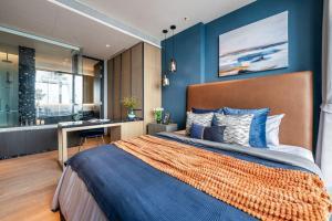 For RentCondoSukhumvit, Asoke, Thonglor : Beatniq Condo 1 Bedroom For rent + Fully furnished in luxury style