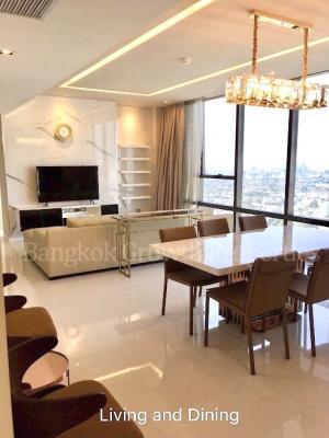 เช่าคอนโดสาทร นราธิวาส : 𝐔𝐩𝐝𝐚𝐭𝐞 𝐏𝐫𝐢𝐜𝐞! For rent at Then Bangkok Sathorn 2bed2bath /127sqm/ special 100,000/ month