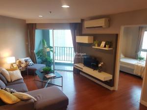 เช่าคอนโดพระราม 9 เพชรบุรีตัดใหม่ RCA : For RENT and SALE unit 2 bed 1 bath 60sqm Hight floor 35th at building A1, Nice view !!!