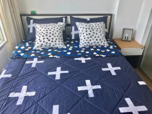 For RentCondoOnnut, Udomsuk : Condo for rent Lumpini Ville Onnut 46 fully furnished