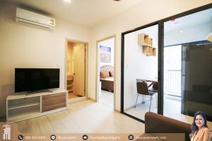 For RentCondoOnnut, Udomsuk : JY-R00133 - For Rent Condo Life Sukhumvit 48 Building S on 12A floor 30sq.m. 1bed 1bath