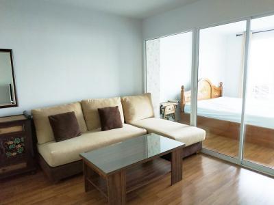 For SaleCondoOnnut, Udomsuk : Regent Home 22 (R222221) fully furnished + City view (near BTS On-nut, Tesco Lotus Onnut, Wells Intl School Onnut, Expressway)