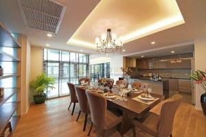 For RentHouseWitthayu, Chidlom, Langsuan, Ploenchit : Single Modern House with Private Pool and Elevator ( Welcome home office )
