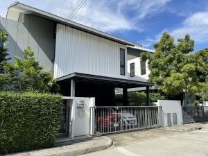 ขายบ้านนวมินทร์ รามอินทรา : HM-0303 ขายบ้านเเฝด โนเบิล เกเบิล คันโซ วัชรพล บ้านดีไซน์เรียบง่ายสไตล์ญี่ปุ่น เน้นความเรียบง่าย