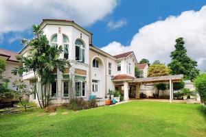 ขายบ้านพระราม 5 ราชพฤกษ์ บางกรวย : ขายบ้านเดี่ยว 2 ชั้น แปลงมุม ทำเลต้นโครงการ   ม. มณียา มาสเตอร์พีซ รัตนาธิเบศร์   เนื้อที่ 153.4 ตร.ว.