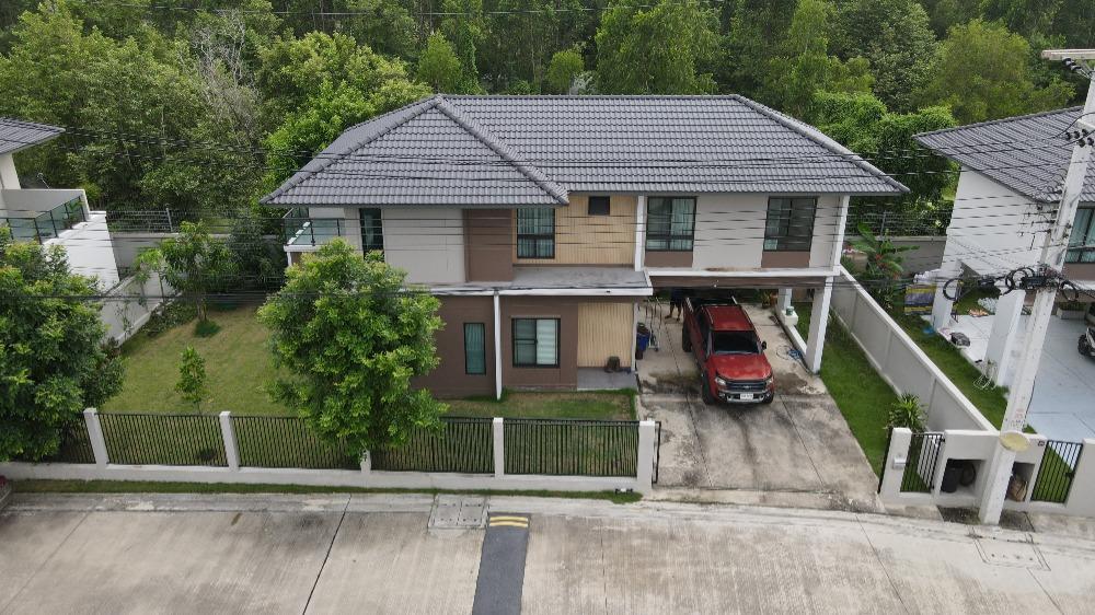 ขายบ้านรังสิต ธรรมศาสตร์ ปทุม : บ้านเดี่ยว สยามไฮวิลล์ สภาพสวยใหม่ หน้าบ้านกว้าง ถนนกว้าง บรรยากาศดี 78 ตร.วา