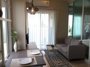 For RentCondoRatchadapisek, Huaikwang, Suttisan : ss132 Condo for rent Chapter One Eco Ratchada-Huay Kwang fully furnished