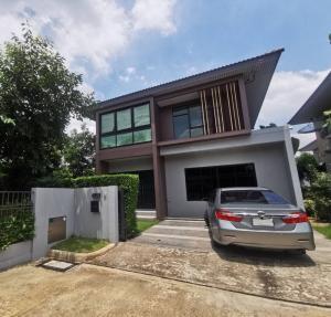 ขายบ้านรังสิต ธรรมศาสตร์ ปทุม : ขายบ้านเดี่ยว โครงการ บุราสิริ รังสิต โซนหน้าข้างบ้านไม่ชนกับใคร