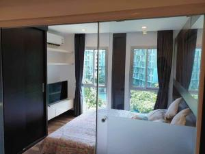 For RentCondoNawamin, Ramindra : 🔥🔥 wide room!! All electrical appliances!! Ready to move in!! [Condo Park Exo Kaset] Line : @vcassets 🔥🔥