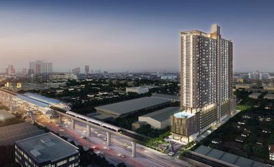 ขายคอนโดสำโรง สมุทรปราการ : ขาย Supalai Veranda สุขุมวิท 117 ห้อง 2 Bed 2 bath ชั้นส่วนกลาง ตำแหน่งสวยที่สุด