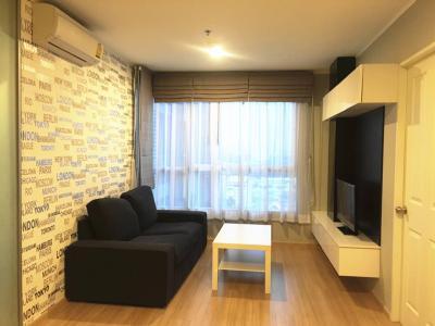 For RentCondoBang Sue, Wong Sawang : ให้เช่าห้องสวย ราคาถูก!!! แต่งครบ ยู ดีไลท์ 3 ประชาชื่น - บางซื่อ U delight 3 ขนาด 35 ตร.ม. เฟอร์บิวท์อินครบ พร้อมเข้าอยู่คะ