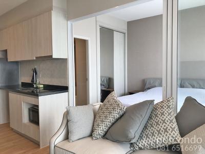 For RentCondoPattaya, Bangsaen, Chonburi : Beautiful decoration ready for rent The Zea Sriracha 1 bedroom 15th floor sea and mountain views