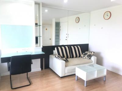 For SaleCondoRamkhamhaeng, Hua Mak : Condo for sale, Lumpini Ville Ramkhamhaeng 26, size 32 sqm., Building D, Floor 6, fully furnished, electric 1.65 million