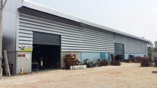 For SaleFactoryMahachai Samut Sakhon : Factory for sale, Samut Sakhon warehouse, Bang Nam Chuea, Rama 2, Ekachai, Bangbon, with Ror. 4. Price 35 million