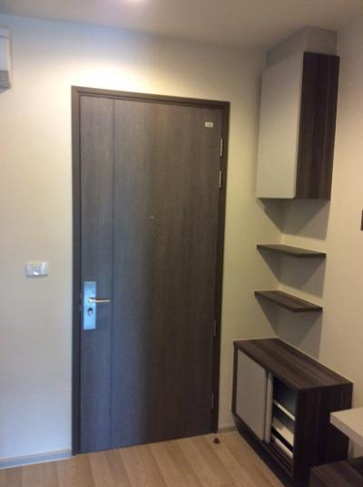 For SaleCondoRatchadapisek, Huaikwang, Suttisan : Selling a room at the Centric condo Ratchada-Huai Khwang (Huai Khwang Station) with furniture And electrical appliances