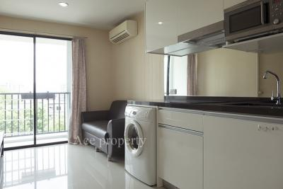 For SaleCondoRatchadapisek, Huaikwang, Suttisan : Condo Metro Sky Ratchada, with furniture and appliances at a very special price.