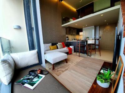 ขายคอนโดสุขุมวิท อโศก ทองหล่อ : Owner ขายพร้อมผู้เช่าญี่ปุ่น 55,000: The ESSE Asoke [Duplex 2 นอน] ชั้นสูงที่สุด โปร่งด้วยเพดาน 4.1 เมตร