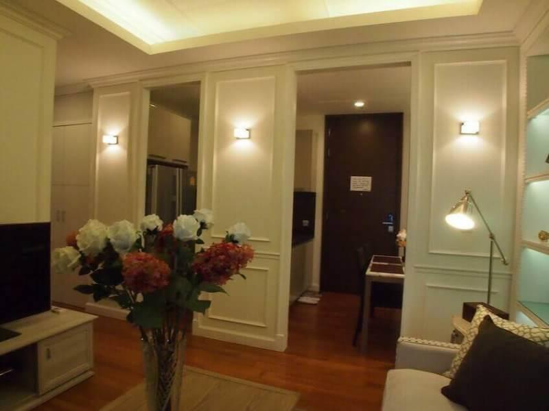 For rent Quattro by Sansiri Building: B Area: 82 sq.m.  Rent : 80,000 baht/ month  Tel.095-9571441