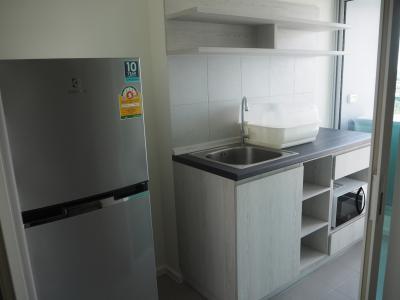 For SaleCondoThaphra, Talat Phlu, Wutthakat : Condo for sale near BTS Talat Phlu, Aspire Sathorn-Thapra (Aspire) 26.80 sq.m., 15th floor, north-east