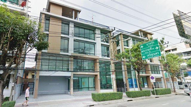 เช่าตึกแถว อาคารพาณิชย์พระราม 3 สาธุประดิษฐ์ : ให้เช่า อาคารพาณิชย์ 4.5 ชั้น  ถนนเจริญกรุง-พระราม3 ซอยเจริญกรุง86