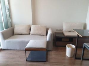 For RentCondoRamkhamhaeng, Hua Mak : Condo for rent at U Delight @ Hua Mak, 32 sqm, floor 5, 1 bedroom, 1 bathroom, fully electric, fully furnished, 9000 baht
