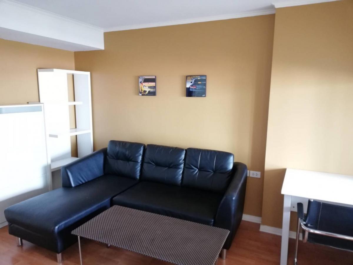 For RentCondoRamkhamhaeng, Hua Mak : For rent, Condo Lumpini Ville Ramkhamhaeng 44, 35 sqm., 8th floor, 1 bedroom, fully furnished, electricity 9500 baht