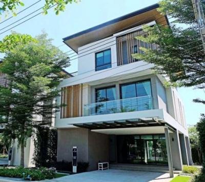 For RentHouseLadkrabang, Suwannaphum Airport : For Rent / RENT Nice Singlel AQ Arbor Chalermprakiat 4 Bed 5 Bath Fully furnish
