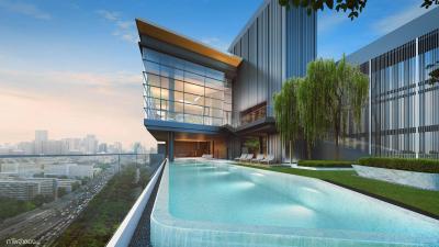 The Room พญาไท ห้อง Studio ติดสวน ชั้นเดียวกับสวน ราคารอบ VIP หน้าสัญญาเพียง 4.99 ล้านบาท