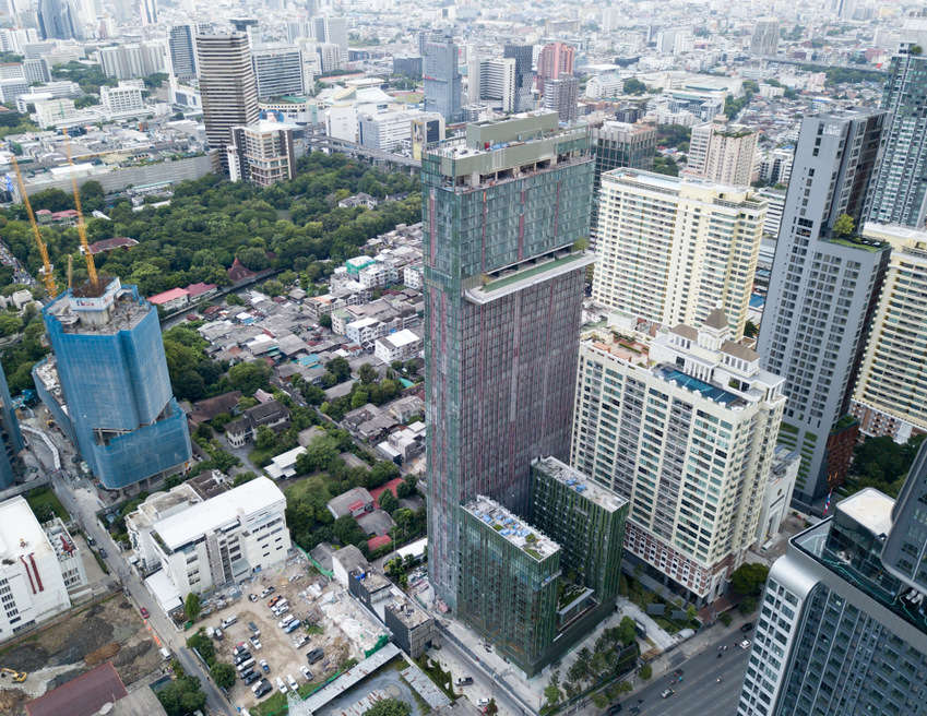 For SaleCondoRatchathewi,Phayathai : Condo WISH Signature Midtown Siam @BTS Ratchathewi 26.75 sq.m 1Bed 8 floor Clear View, Facing East