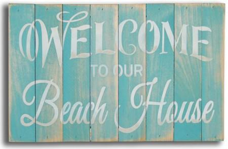 ป้ายแขวนหน้าบ้าน @ Beach House Decorating