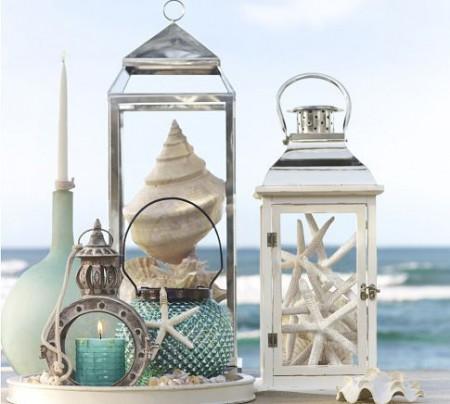 ขวดโหลสำหรับตั้งโชว์ @ Beach House Decorating