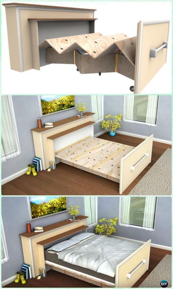 4 แบบ เตียงนอนพับได้ ช่วยประหยัดพื้นที่บ้านคุณ Livinginsider