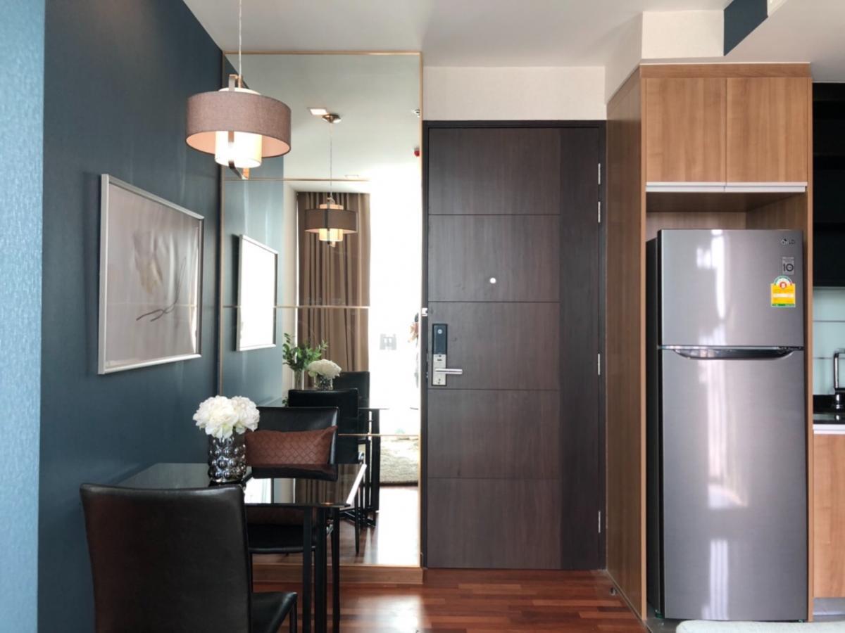 ให้เช่า FOR RENT 1 Bedroom 33 SQM ห้องทิศใต้ วิวมหานคร ชั้น 21 , 26 มี 2 ห้อง AGENT WELCOME